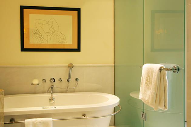 Esquisse à la salle de bains