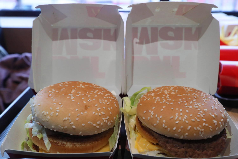 Quelque chose a changé dans les Big Mac?