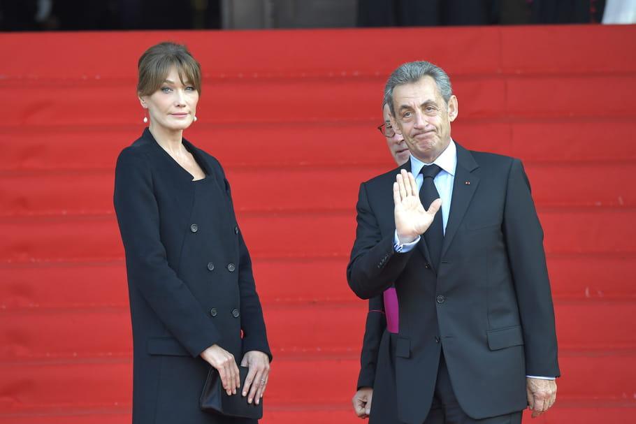 Nicolas Sarkozy et Carla Bruni, de mariage à La Baule