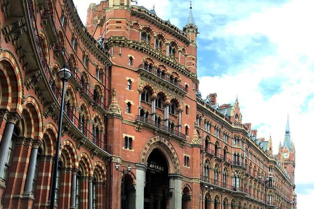 Hôtel St Pancras Renaissance : oh my gothique !