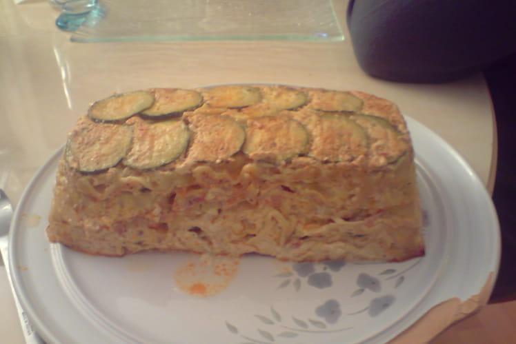 Lasagnes jambon courgette