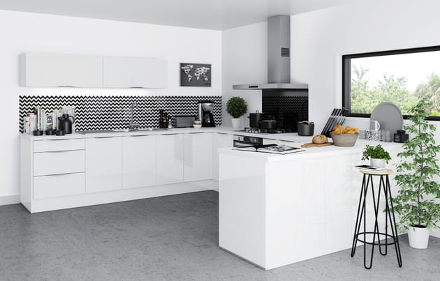 Cuisine saga de but for Dlb meubles