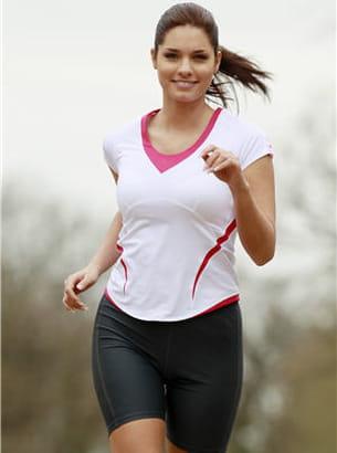 la graisse située dans le ventre est réduite pendant les activités physiques.
