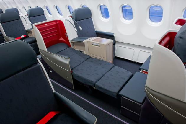 Business Class: des sièges qui se transforment en lits