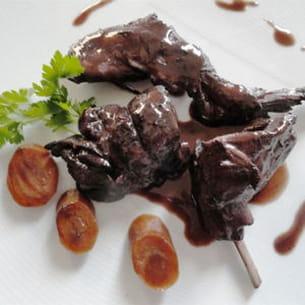 civet de lapin au cacao