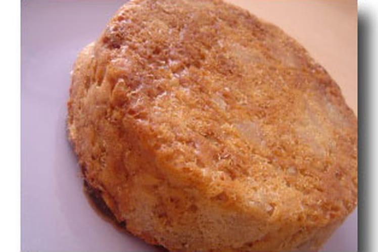 Cake au mascarpone aux pommes