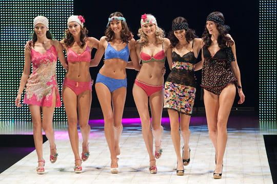 Les tendances lingerie printemps-été 2012
