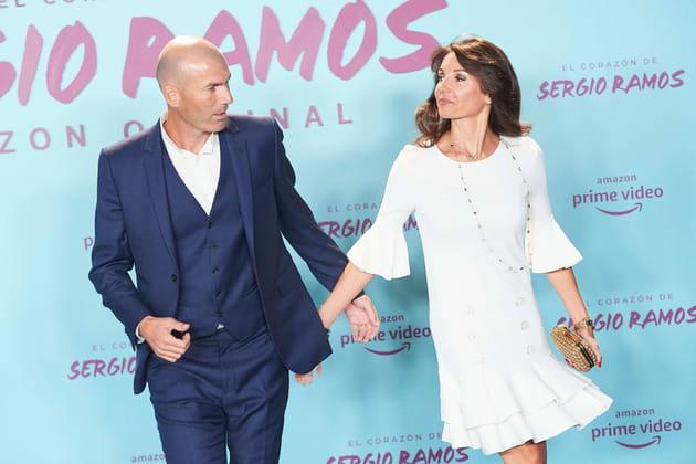Zinédine et Véronique Zidane, couple glamour et uni
