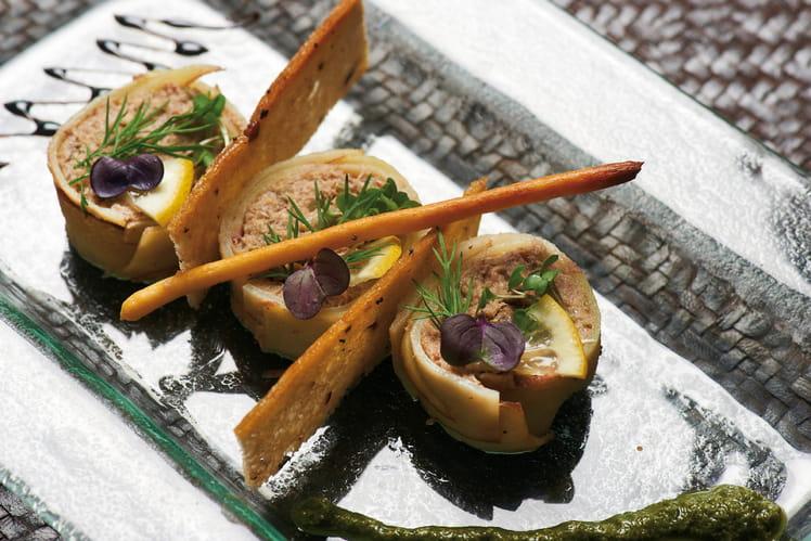 Makis de Chérie aux sardines au citron