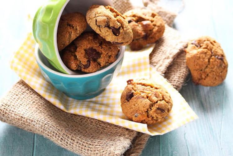Mini cookies à l'okara (pulpe d'amandes)