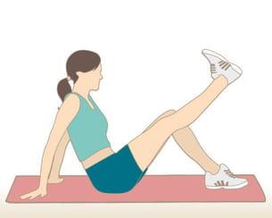 flexion et extension de la jambe. Black Bedroom Furniture Sets. Home Design Ideas