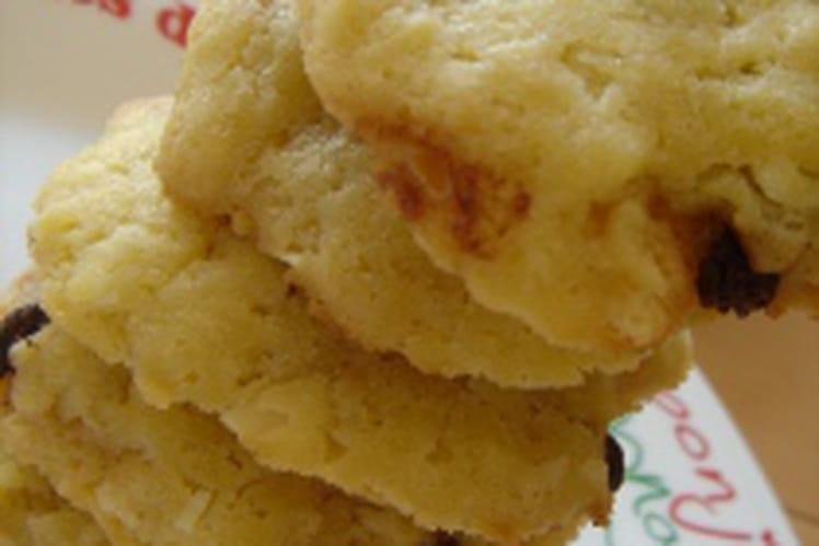 Cookies délicieux au chocolat au lait