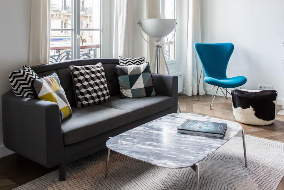 quelle couleur pour le salon. Black Bedroom Furniture Sets. Home Design Ideas