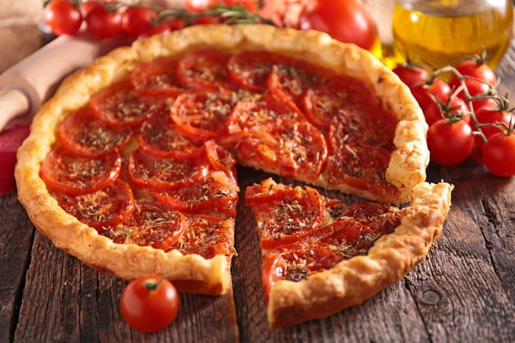 Tarte à la tomate gourmande
