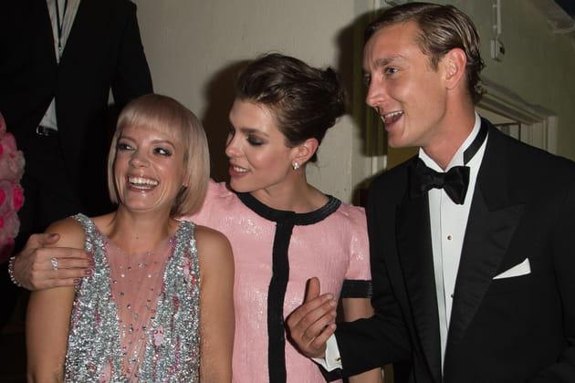Lily Allen, Charlotte et Pierre Casiraghi