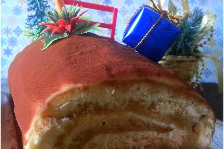 Bûche de Noël façon Tiramisu