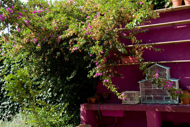 Une terrasse joyeuse
