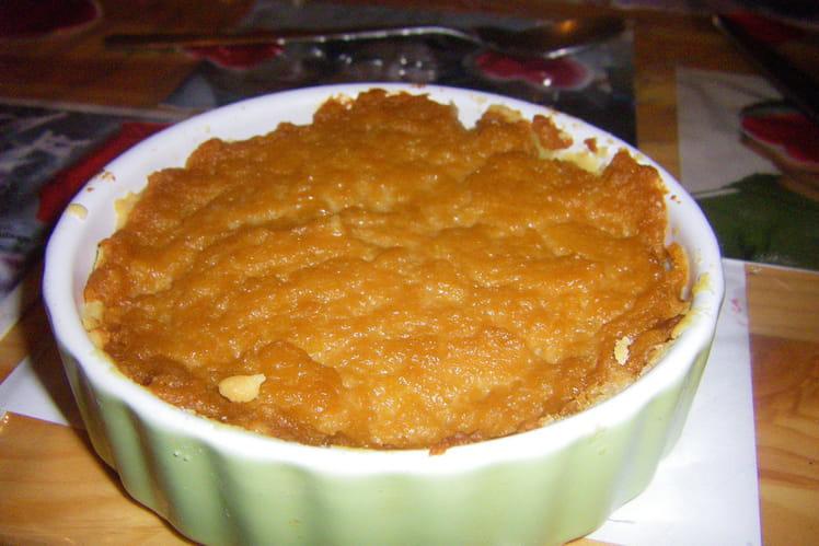 Tarte-flan au caramel