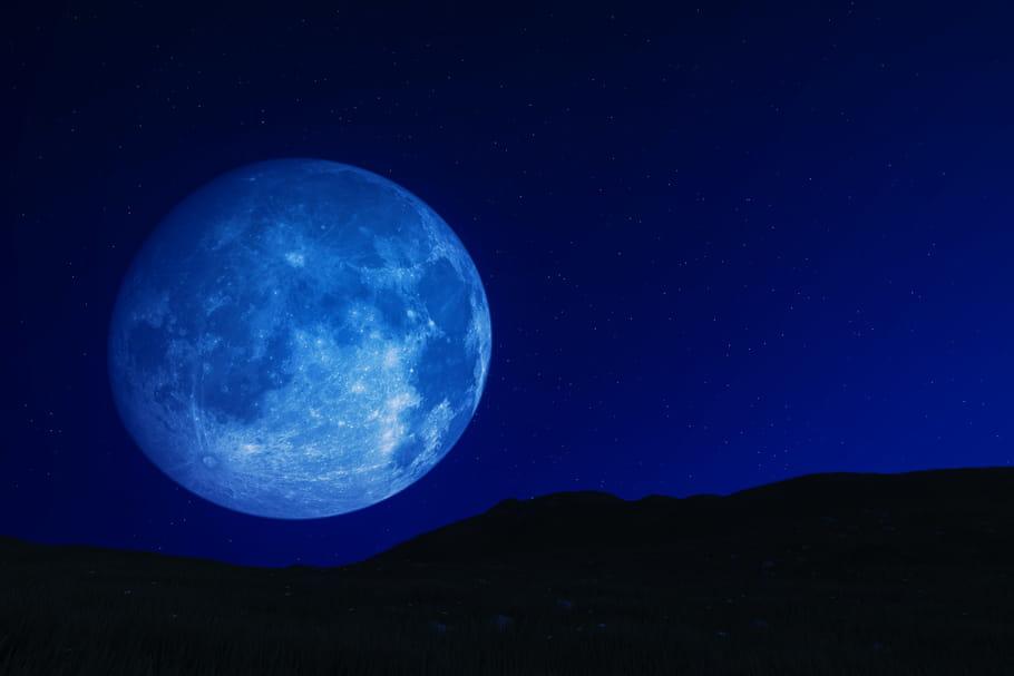 Pleine Lune Bleue ce 31octobre, soir de Halloween: ses effets
