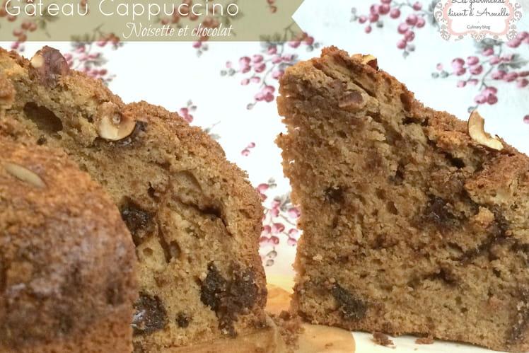 Gâteau capppucino aux noisettes