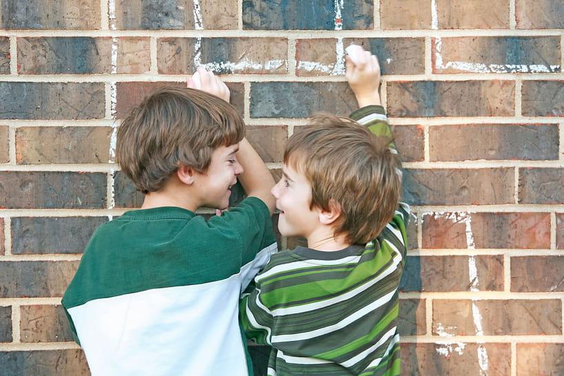 L'amitié pendant l'enfance