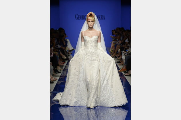 Robe de mariée Chakra, brillante