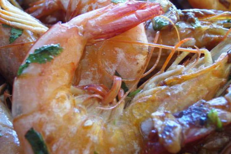Crevettes à l'espagnole