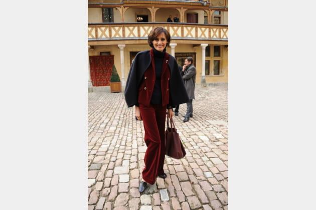 Inès de la Fressange 20novembre 2011