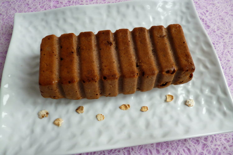Cake cacao châtaigne au bambou et au psyllium