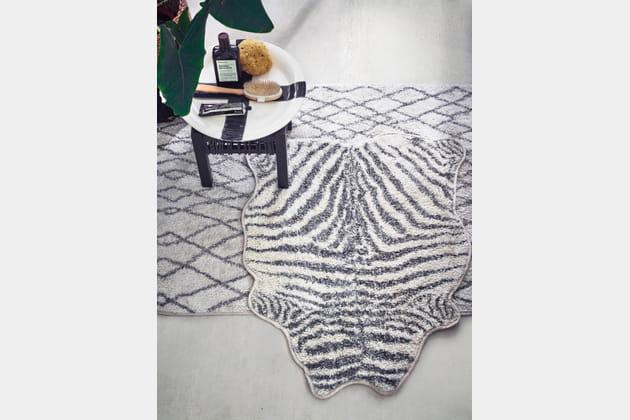Tapis Zebra de HK Living vendu chez Love Creative People