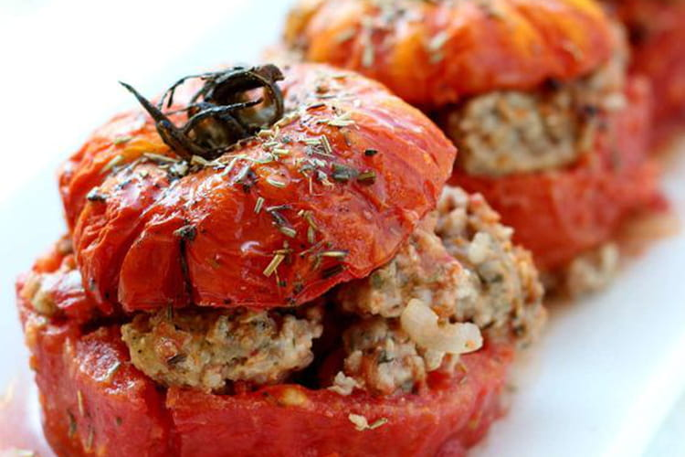 Tomates farcies à la provençale