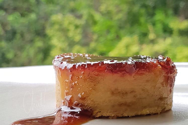 Gâteau comme un pudding au fruit à pain