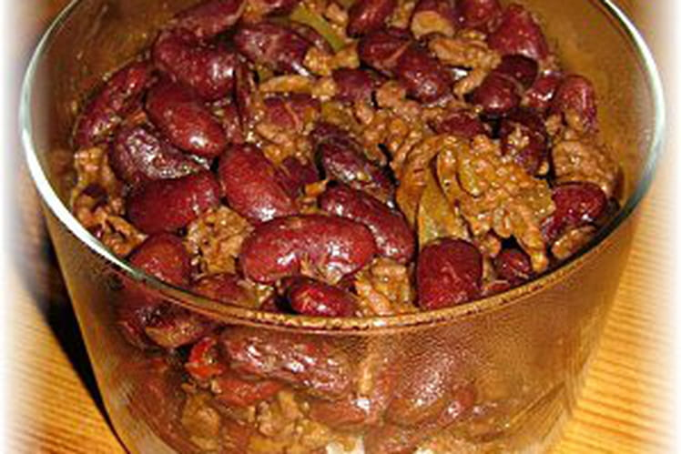Chili con carne traditionnel