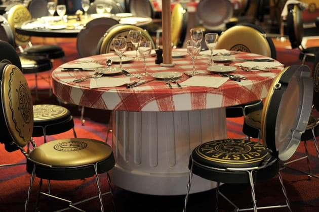 Restaurant : un décor unique