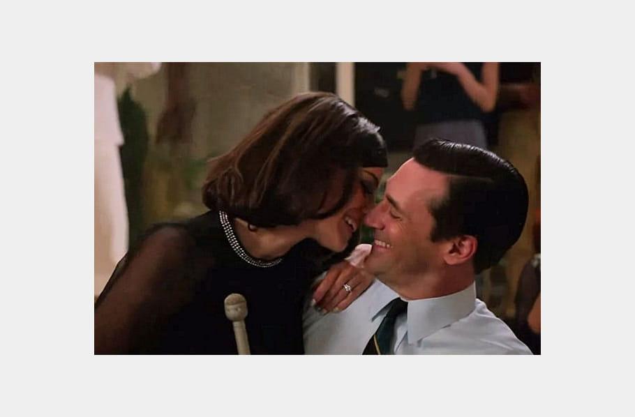Mad Men : Megan et Don Draper