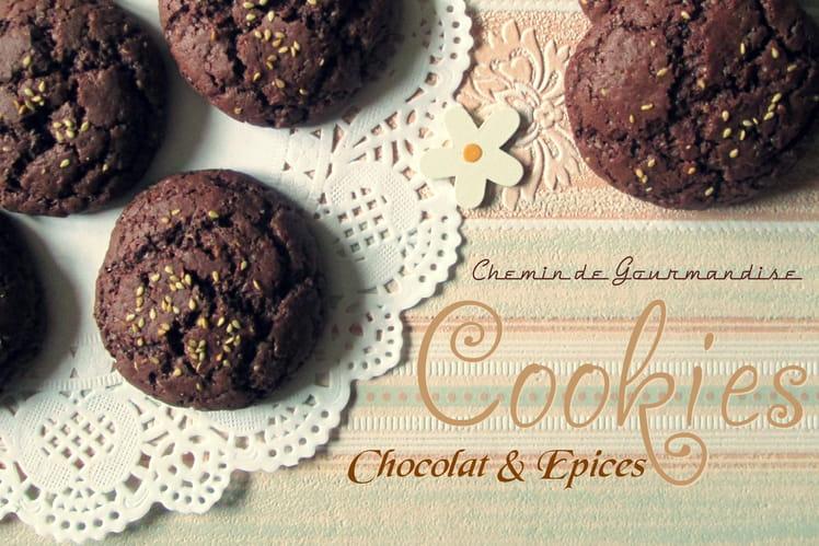 Cookies chocolat & épices