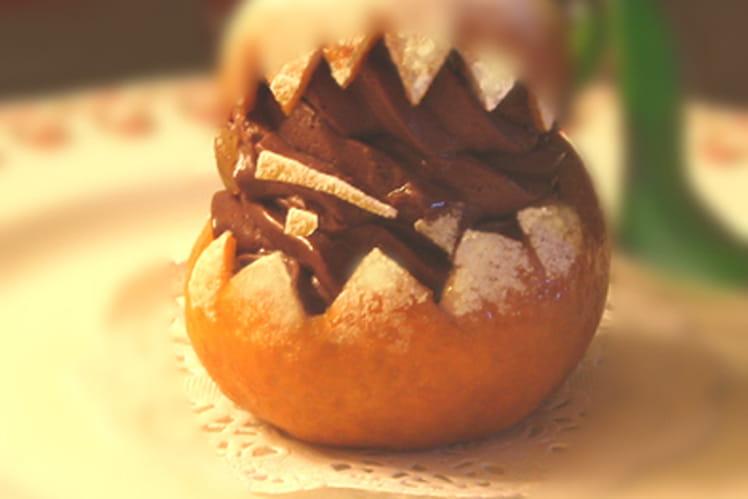 Mandarine au chocolat