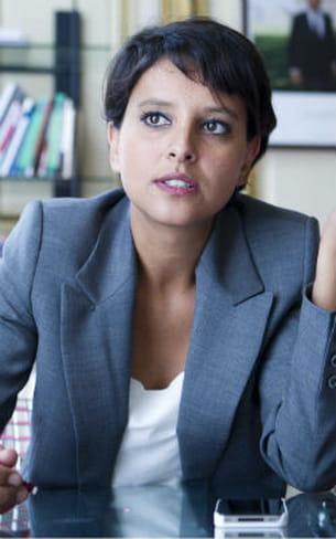 najat vallaud-belkacem, ministre des droits des femmes, porte-parole du