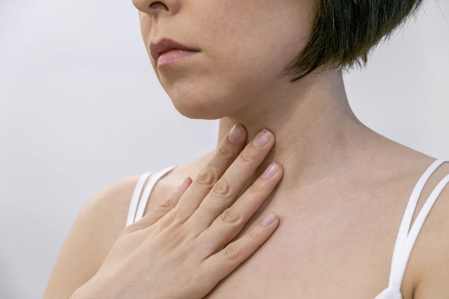 Cancer de la gorge: symptômes, peut-on guérir?