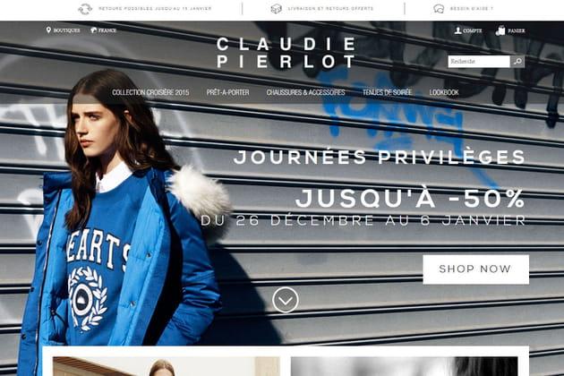 Le e-shop de Claudie Pierlot