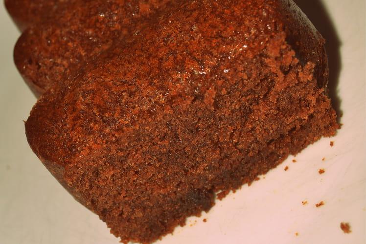 Quatre-quart au chocolat léger
