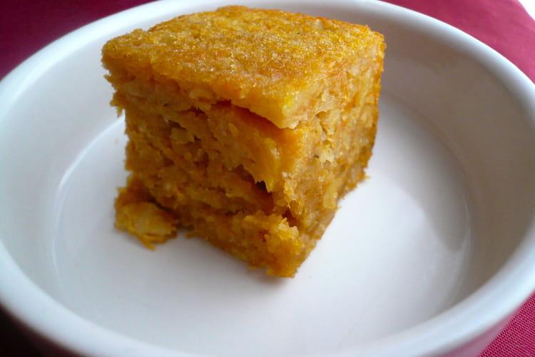 recette de gateau citrouille amandes : la recette facile