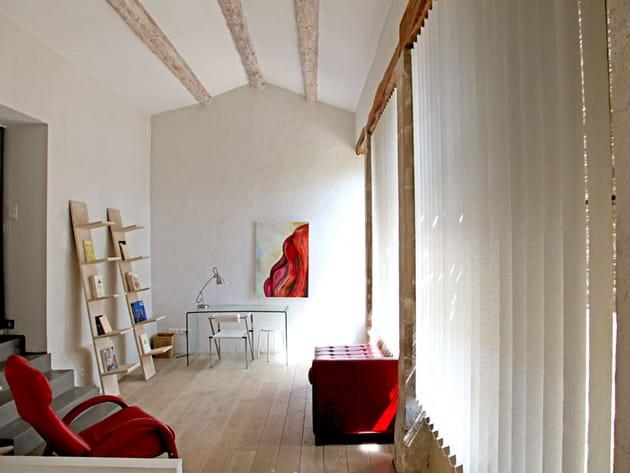 Salon ambiance atelier
