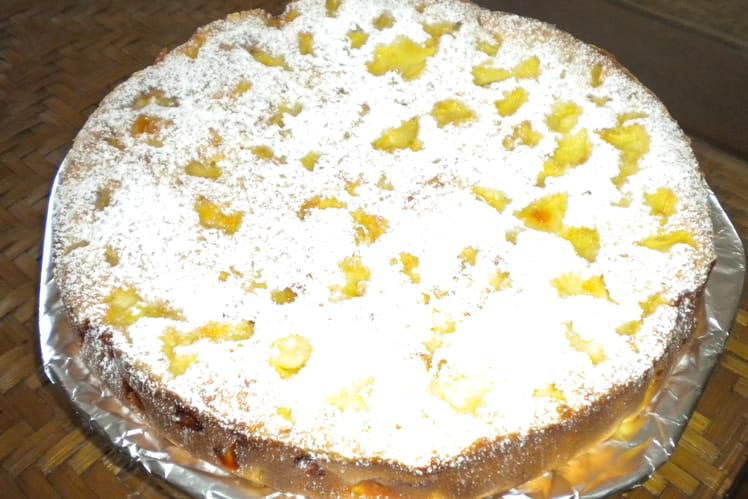 Gâteau pomme-coco