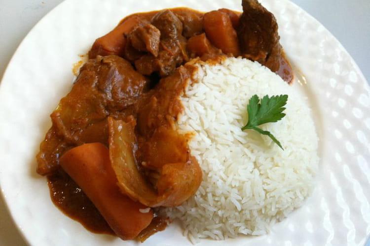 Mafé de poulet d'Afrique