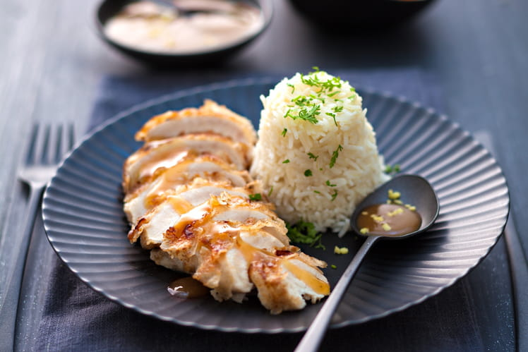 Escalopes croustillantes de poulet au citron