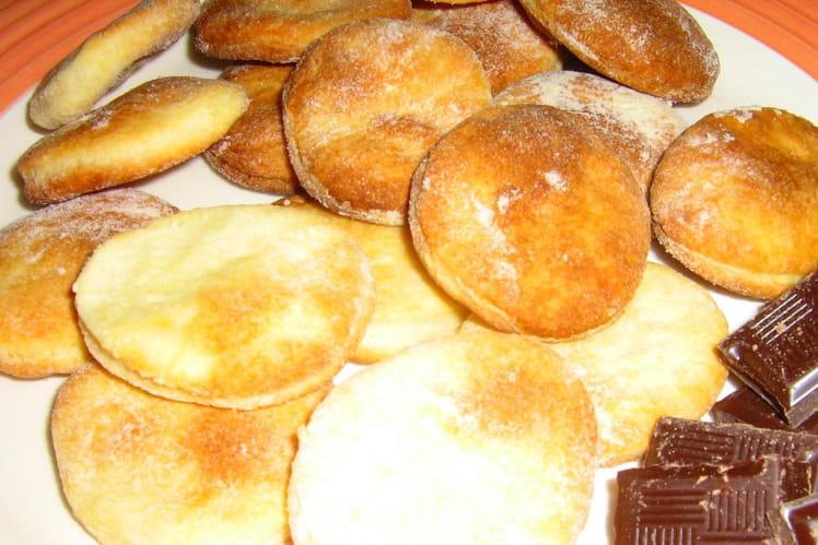 Biscuits à la crème saveur vanille