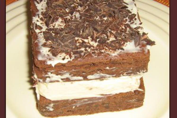 Gâteau mascarpone et chocolat