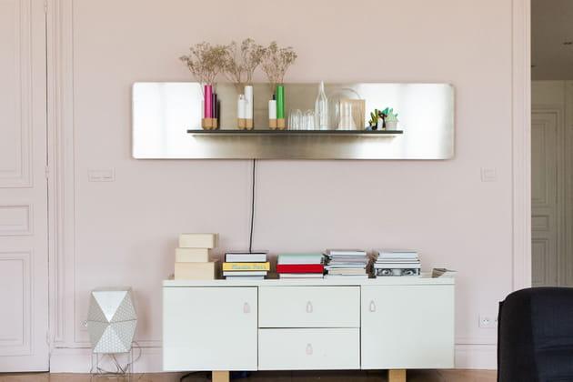 Un mobilier plus horizontal que vertical