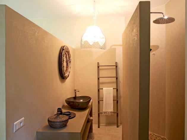 Salle de bains en tadelakt